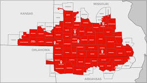 coca cola distribution market area map ozarks coca cola dr pepper bottling company