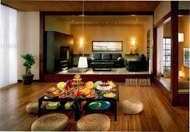 Small Picture Asian Living Room Interior Design Sleek And Comfortable Asian