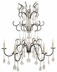 ebanista lighting. Versailles Chandelier By Ebanista - 6-light Chandelier. Hand-forged Wrought Iron Frame Lighting