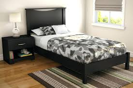 twin platform bed with headboard. Simple Twin Platform Headboard One Twin Bed In Pure Black And With  Bedroom Astounding Diy Upholstered Intended R