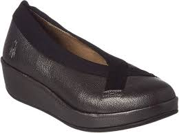 Fly London Bobi Leather Wedge Products Leather Wedge
