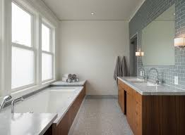 dwell bathroom ideas  heath ceramics dwell bathroom contemporary with wood tub surround oversized bathtub