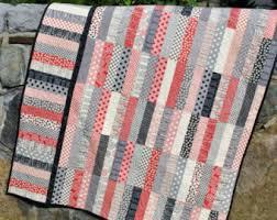 Quilt Pattern.....Jelly Roll and Fat Quarter friendly, ..Baby, Lap ... & Jelly Roll and Fat Quarter friendly, .Baby, Lap and Twin size, P. I Love  You quilt pattern. Adamdwight.com