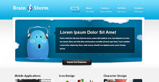 website templates download free designs brain storm free corporate template chocotemplates