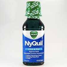Tylenol Cold And Flu Severe Dosage Chart Nyquil Cold Flu Liquid Dosage Rx Info Uses Side Effects