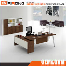 Office Furniture Modern New Modern Office Table L Shaped Solid Wooden Office Furniture Executive