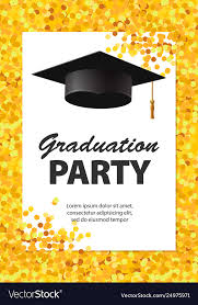 Invitation For Graduation Graduation Party Invitation Card With Golden