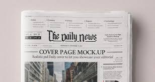 Newspaper Psd Template Download Daily Newspaper Psd Mockup Psd Mock Up Templates Pixeden