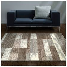 superior modern rockwood collection area rug 8mm pile height