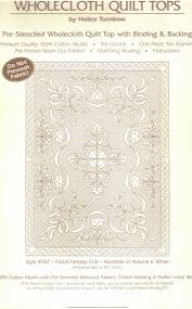 WHOLECLOTH QUILT KITS: wallhanging, crib and throw size | Nova ... & Above ... Adamdwight.com