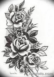 черно белый эскиз тату для женщины 09032019 028 Tattoo Sketch