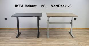 ikea bekant vs vertdesk v3 which is the better standing desk