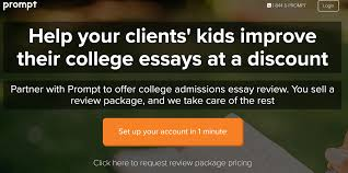 College Prompt Essays Weve Teamed Up With Prompt To Help Your Families With
