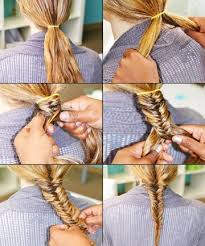 Hairstyle Easy Step By Step fishtail braid how to do a fishtail braid our easy stepby 7025 by stevesalt.us