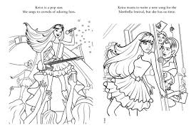 Small Picture Barbie Rock And Roll Coloring Pages Coloring Pages