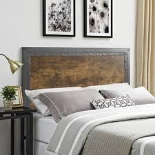 industrial bedroom furniture. Queen Headboard - Industrial Wood And Metal Bedroom Furniture O