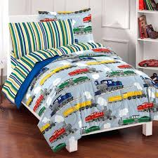boys full size bed in a bag teen boy bedding twin size blue train bedding for boys twin or full size comforter