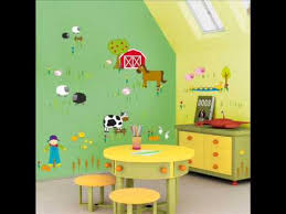 kids wall stickers ideas for