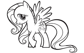 Small Picture Printable my little pony coloring pages fluttershy ColoringStar