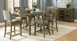 counter height dining table. Omaha Counter Height Dining Set W/ Chair Choices (Grey) Table