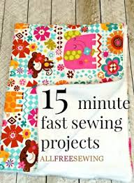 15 Minute Fast Sewing Projects