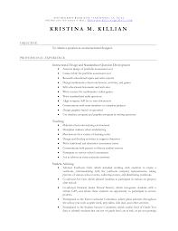 Objective For Teaching Resume Teaching Resume Objective For Study Objectives Preschool Teacher 71