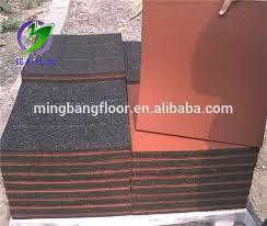 durable anti slip spray rubber flooring waterproof floor