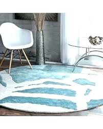 round accent rugs aqua blue rug interesting 6 deal alert contemporary abstract green wayfair
