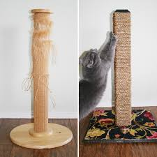 diy cat scratching post dream a little bigger in how to make scratcher decorations 1