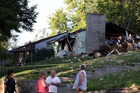 Benson Ford House Benson Area Residents Assess Damage After House Explosion Kills