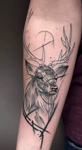 Stag Tattoo By Jack Mangan At The Ink Factory Dublin Ireland Deer