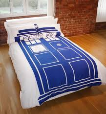 Doctor Who Dr Who Tardis Double Bed Duvet/Quilt Cover Set &  Adamdwight.com