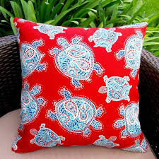 Artisan Pillows Kids Sea Turtle Indoor Outdoor Pillow Cover