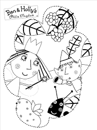 Ben And Holly Printable Coloring Pages