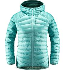 Куртка женская Haglofs Essens Down Hood Glacier Green/Willow ...