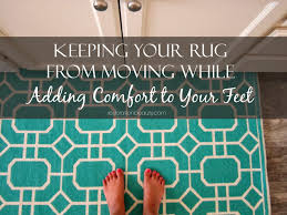 how to keep your rug in place while adding comfort to your feet with rug pad usa and a code
