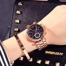 Women Watch Elegant <b>Brand GUOU Famous</b> Luxury Gold ...