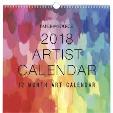 Small Picture Artist Calendar 2018 Wall Calendar 842612070053 Calendarscom