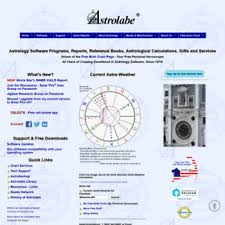 Astrolabe Birth Chart Kiosk Alabe Com At Wi Astrolabe Astrology Software