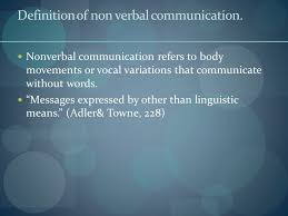non verbal communication essay   writefiction   web fc  comnon verbal communication essay