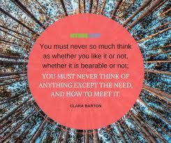 Clara Barton Quotes Custom 48 Inspiring Clara Barton Quotes NurseBuff