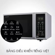 Lò vi sóng inverter có nướng 23L Sharp R-G372VN-S - Miễn phí vận chuyển &  lắp đặt toàn miền Bắc - Bảo hành chính hãng - Mediamart