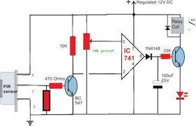 simple circuit diagram using pir sensor (pir = senzor pasiv in Wiring Diagram For Pir Sensor simple circuit diagram using pir sensor (pir = senzor pasiv in infrarosu) electronics pinterest circuit diagram, electronics projects and arduino wiring diagram for pir sensor
