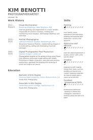 Merchandiser Resume 17 Visual Samples Techtrontechnologies Com