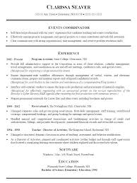Purchase Resume Samples Logistic Coordinator Resume Coordinator Resume Sample Event Planner