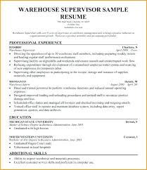 Hospital Housekeeping Supervisor Resume Sample Hospital