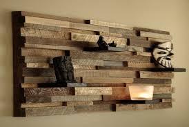 contemporary wood wall art used barn wood