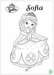 Small Picture Sofia The First Printable Coloring Pages Coloring Home
