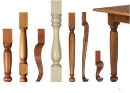 Unfinshed Wood Legs - Table Legs, Kitchen Island Legs, Furniture Legs,  Vanity Legs