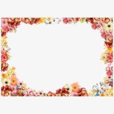 Paper With Flower Border 550 Floral Boarder 01 By Tigers Stock On Clipart Library